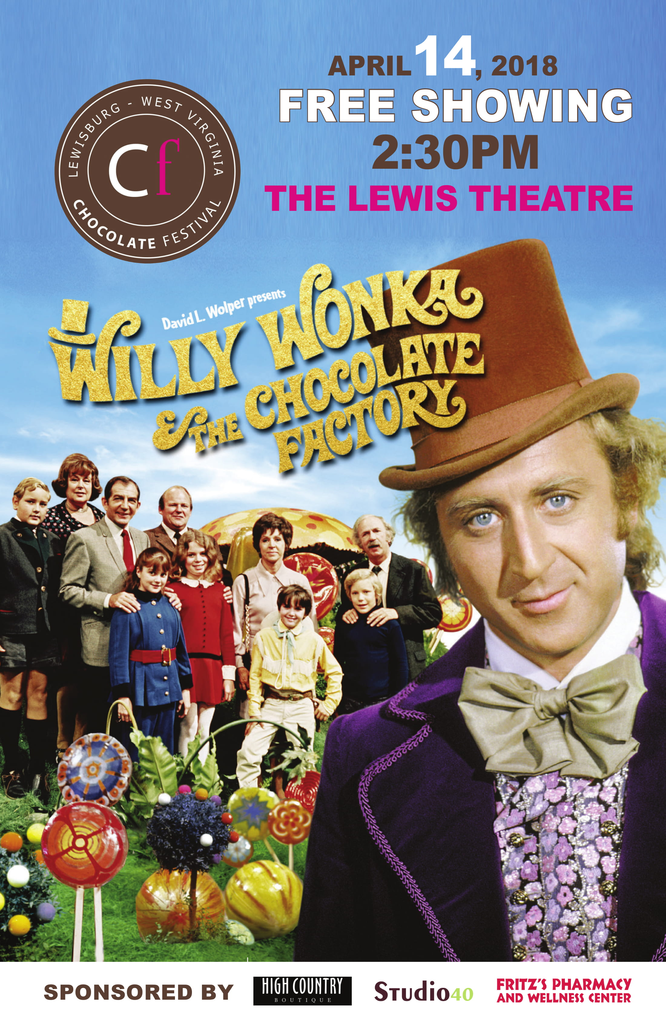 Willy Wonka And The Chocolate Factory Movie Poster 1
