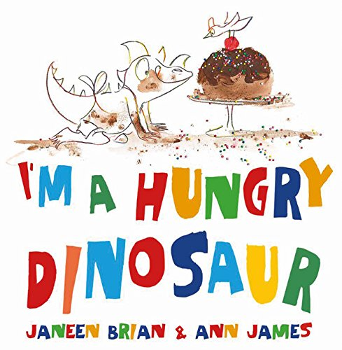 I'm A Hungry Dinosaur Book Cover