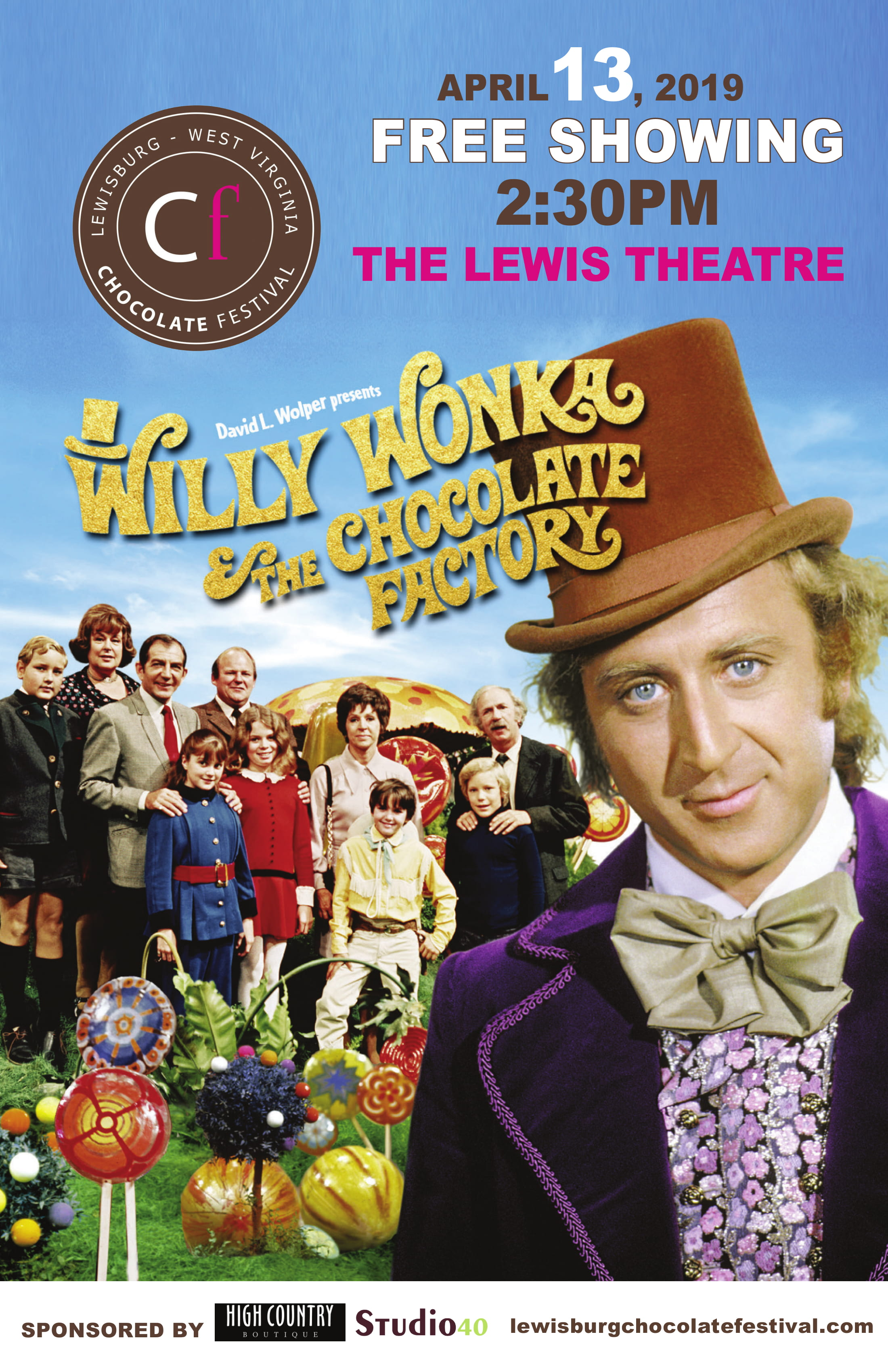 Willy Wonka Movie Poster